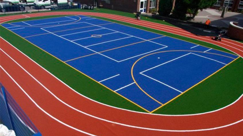 Selladores protectores pintura deportiva framar pinturas - Pintura para pistas deportivas ...